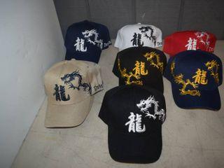 11 Ball Caps   Heavy Caps with Velcro Closure