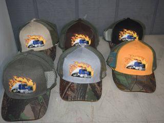 22 Ball Caps   Heavy Caps with Velcro Closure
