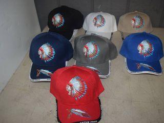 15 Ball Caps   Heavy Caps with Velcro Closure