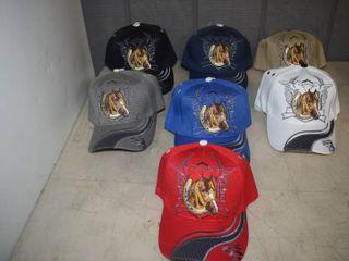 21 Ball Caps   Heavy Caps with Velcro Closure