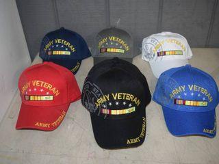 13 Ball Caps   Heavy Caps with Velcro Closure