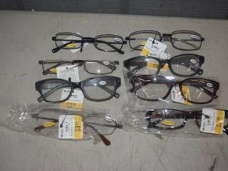 8 Pair Reading Glasses  2 50