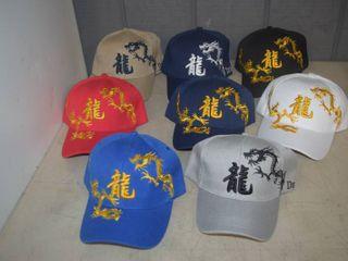 12 Ball Caps   Heavy Caps with Velcro Closure