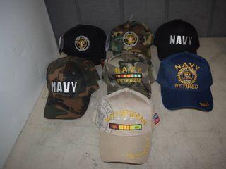 17 Ball Caps   Heavy Caps with Velcro Closure