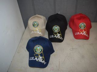 14 Ball Caps   Heavy Caps with Velcro Closure