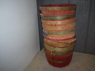9 Medium Bushel Baskets