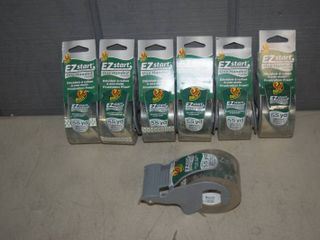 7 Rolls Duck Brand Packing Tape