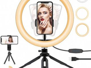10  Selfie light Ring with Tripod