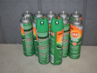12 Cans Deep Woods Off