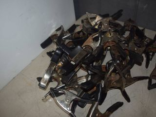 40 Metal Clamps