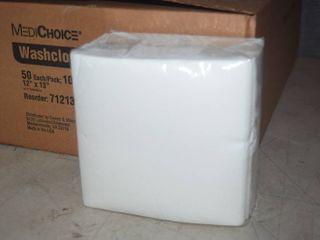 500 Medichoice Disposable Washcloths