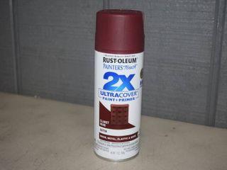 6 Cans Rust Oleum Painter s Touch Spray Paint   Claret Wine
