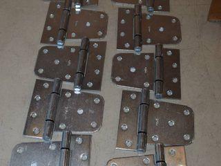 10 National Hardware Zinc Plated Gate Hinges   3 5