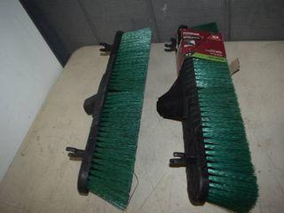 2 Multi Surface 18  Push Broom Heads