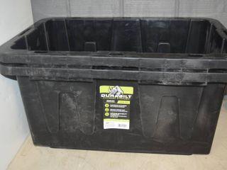2 Durabilt Tough Box 15 Gallon Totes   NO lIDS