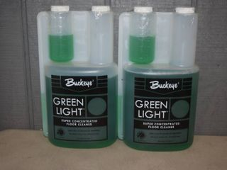 2 Buckeye Green light Super Concentrated Floor Cleaner