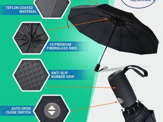 Outdew Mega Umbrella Windproof with Teflon Coating   Auto Open and Close   39