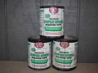 3 Rolls Protecto Wrap Super Stick Building Tape