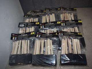 120 Foam Brushes