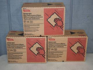 3 Boxes Tuff Job Series 500 High Performance Wipers