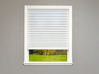 Cordless Pleated Shade  42  x 64  White