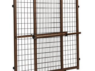 Position   lock Tall   Wide Baby Gate  Pressure Mounted  Farmhouse Collection