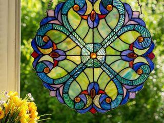 River of Goods Mini Halston Glass Panel