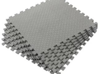 Multipurpose EVA Foam 24 foot Flooring Exercise Mat  6 Tiles