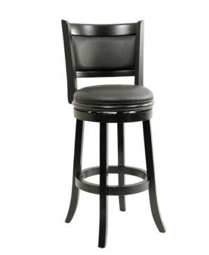 Boraam Augusta 29  Swivel Bar Stool  Black