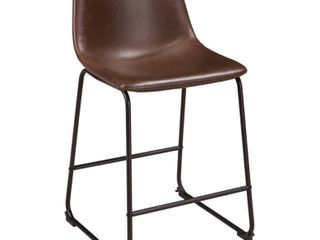 Centiar Single Counter Height Barstool Brown   Signature Design by Ashley