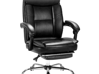 COlAMY Executive Office Chair With Footrest   230 99 Retail