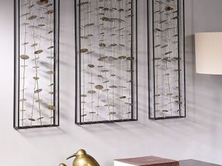 Madison Park Signature Clement Metal Wall Decor  Set of 3