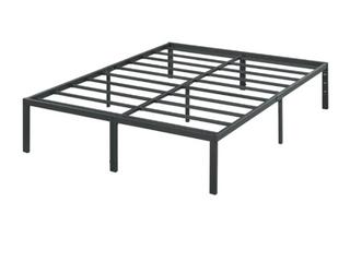 Sleeplanner 18 inch Modern Metal Platform Bed Frame   California King   207 99