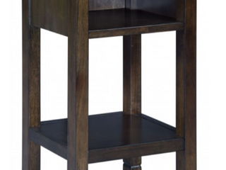 Marnville Accent Table   14 13  W x 14 13  D x 26  H