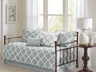 Madison Park Essentials Merritt 6 Pc  Reversible Daybed Bedding Set Bedding