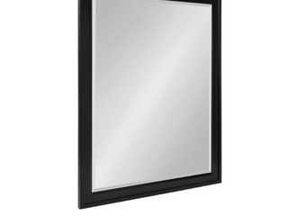 Bosc Framed Decorative Rectangle Wall Mirror   Medium  15 32  high    Black   Black   Wall Mirror   27 5x39 5   89 99 Retail