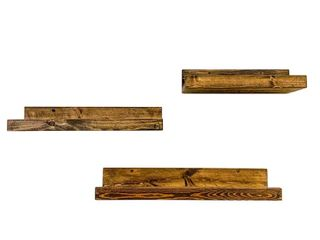 Handmade Rustic luxe Shelf  Set of 3