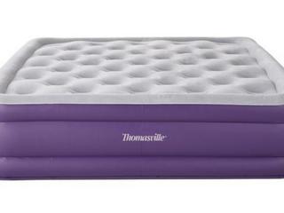 Thomasville Sensation 15  Raised Adjustable Air Bed Mattress Twin