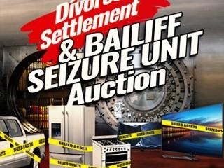 Live Stream: Divorce Settlement & Bailiff Seizure Unit Auction
