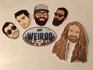 The Rizzuto Show Stickers