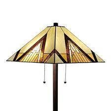 Tiffany Style Mission Standing Floor lamp