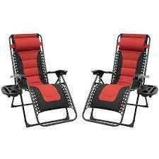 Padded Zero Gravity Chairs SET OF 2