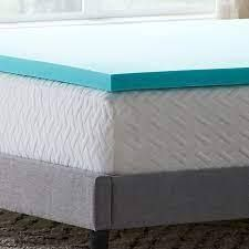 lucid 5 Zone Gel Memory Foam Mattress Topper Twin Full Size