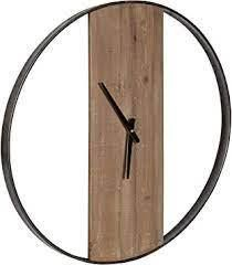 Kate  amp  laurel ladd Around Numberless Wall Clock