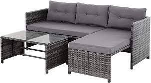 Wicker Patio Furniture Set