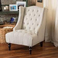 Toddman Fabric High Back Club Chair by CKH