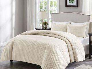 Comfort Spaces Kienna Quilt Mini Set Full Queen Size