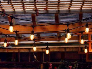 26 Edison light Bulbs All Weather lED String light