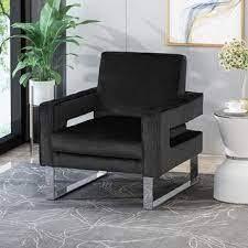 Kirkwood Modern Velvet Club Chair