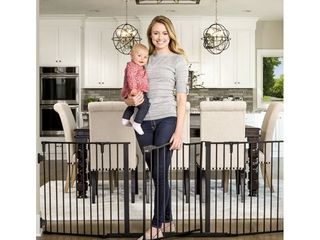 Regalo Deluxe Home Accents Widespan Safety Gate